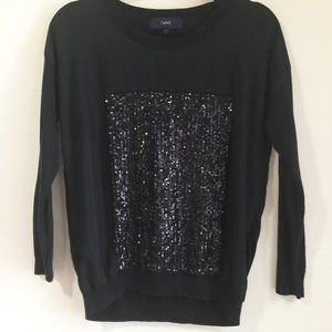 50% OFF Long-sleeved sequined top